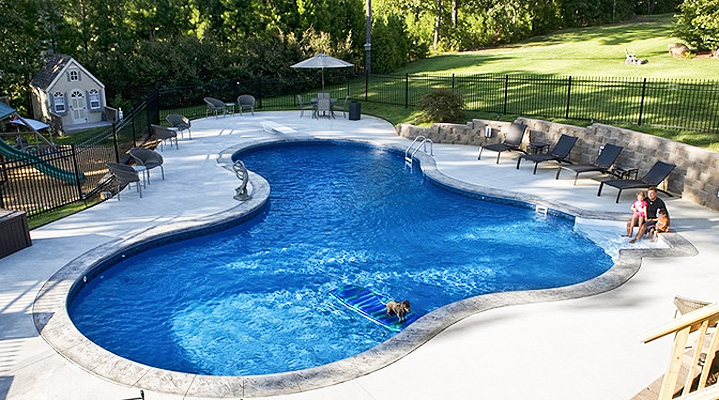 A custom Family Pool
