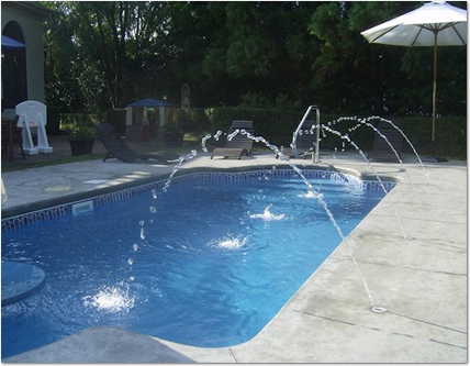 deck jets installation for swimming pools