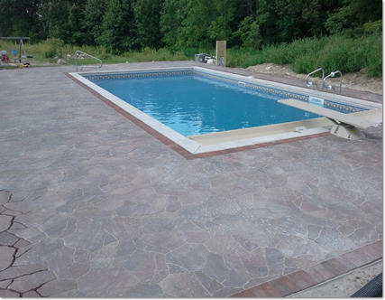 decking around your swimming pool