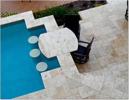 add swim up seating to your pool
