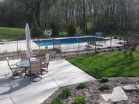 Finished Pool Landscaping